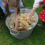 Washing the fleece