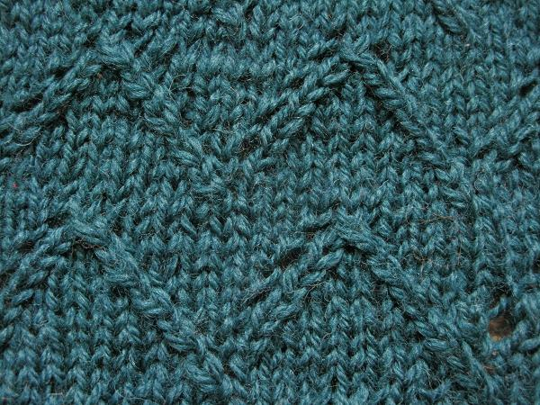 Knitting Techniques Uk : Lace chevron knit stitch images