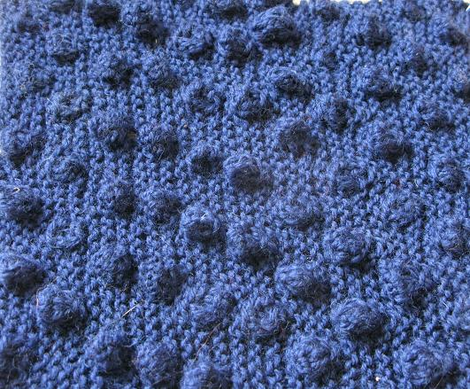 Knitting Pattern For Bobble Blanket : Knitting Stitches   Bobbles
