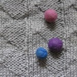 Knitting stitches – Pennant Pleating