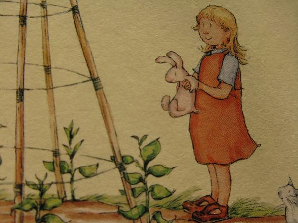 Jody and rabbit