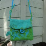 Embellished Felt Bag