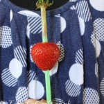 Straw….berry fun