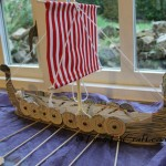 """Oar-some"" model boat"
