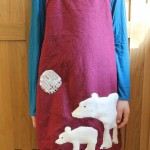 Polar bear tunic finished