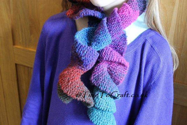 Potato Chip Scarf Knitting Pattern : Dec 2012 handmade