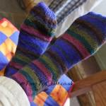 Sometimes handmade socks are like buses….