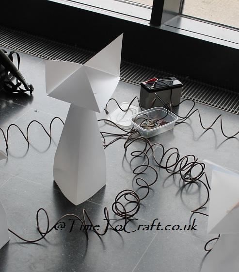 origami fox robot