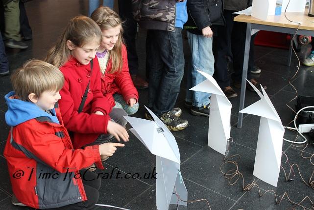 origami fox robots