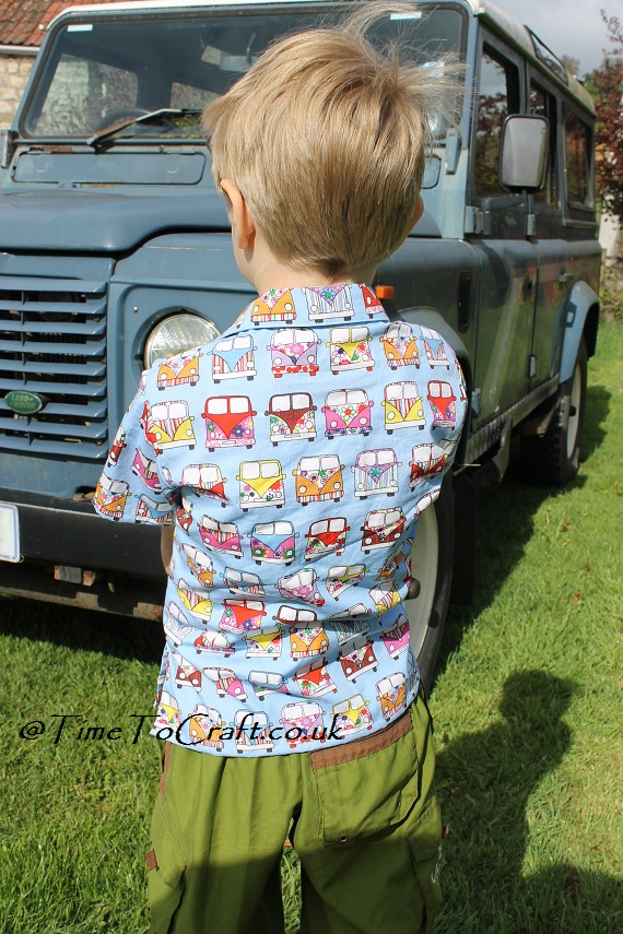 back of camper van shirt