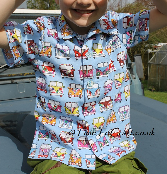 camper van shirt matching fronts