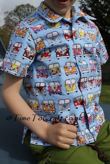 camper van shirt