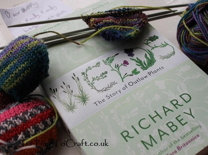 knitting and weeding