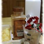 Apple Sauce and Cinnamon Christmas decorations