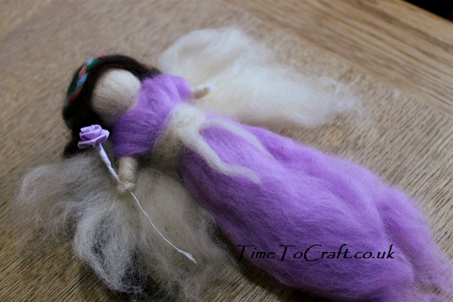 fairy wool doll down