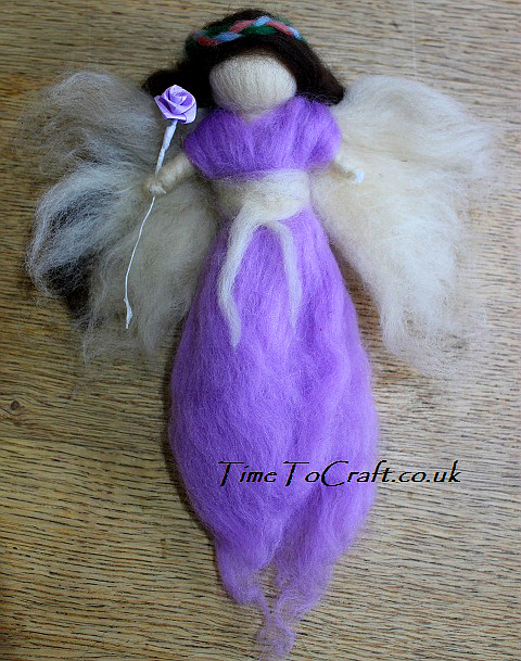 fairy wool doll