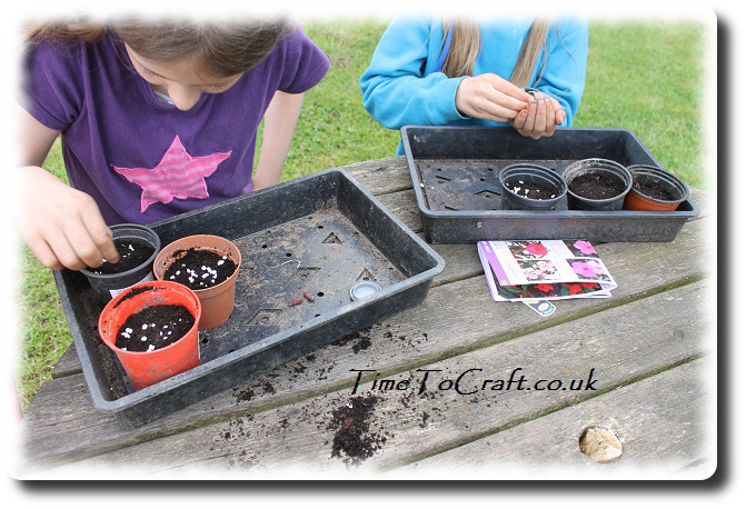 planting on Earth Day