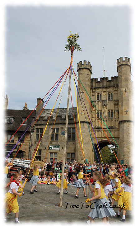 dancing around the maypole 2