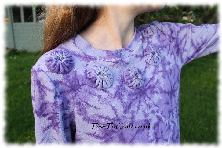 purple top detail