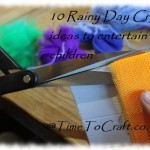 Colourful Rainy Day Crafts