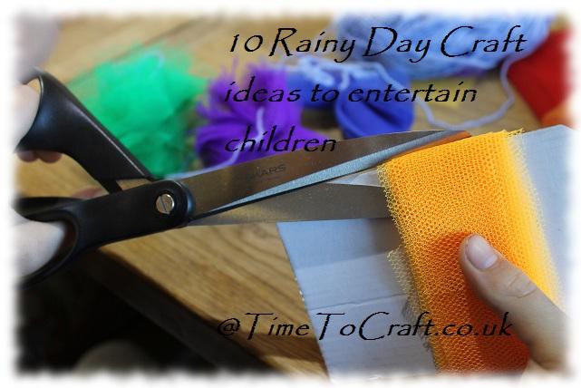 rainy day craft activities