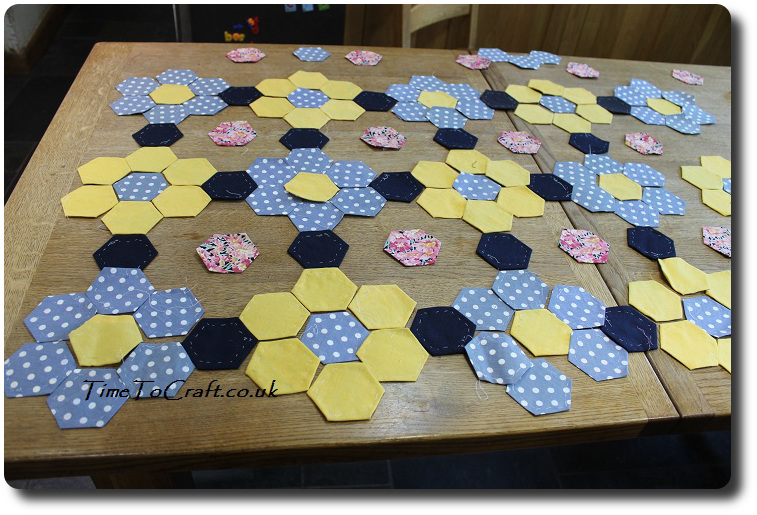 new hexi quilt