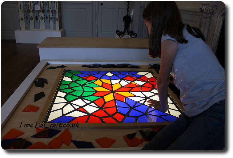 stained glass light box 1
