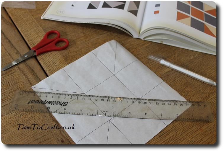 measuring quilt block