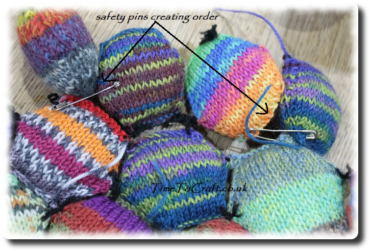 hexi puffs safety pinned