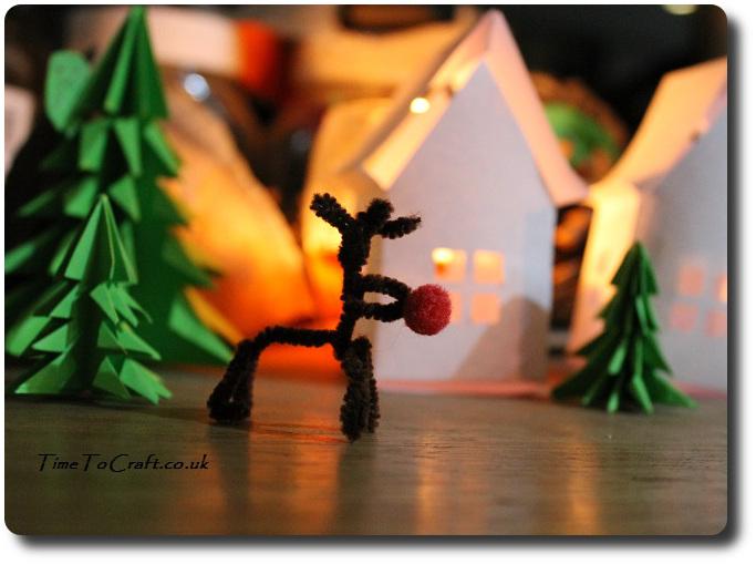 pipecleaner rudolf children craft3