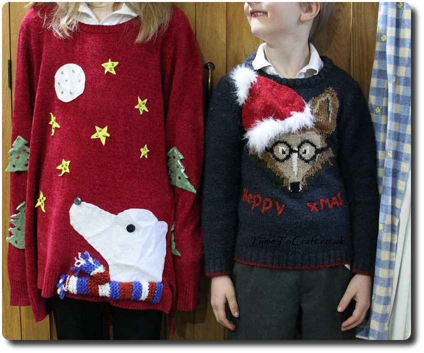 Homemade Christmas Jumpers