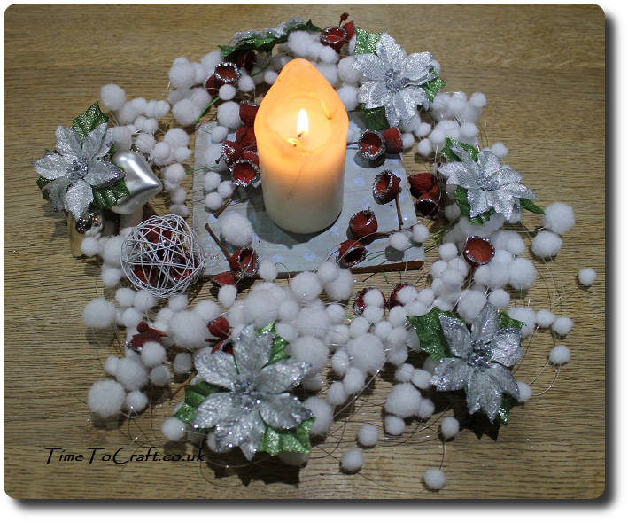 winter table centre piece 2