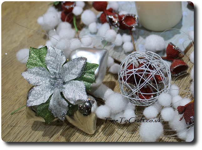 winter table centre piece 3