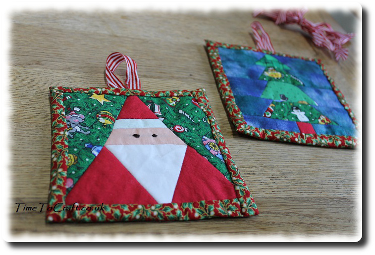 Christmas patchwork pictures 2