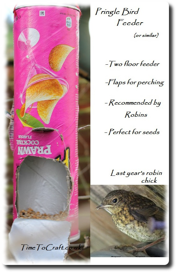 homemade recycled bird feeder