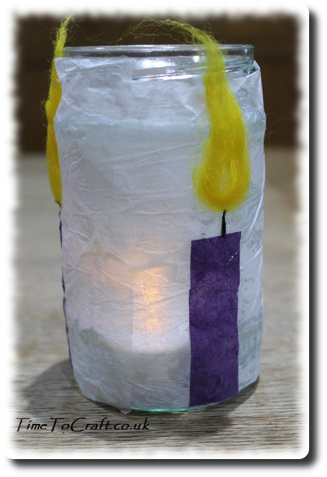 3 candlemas candle