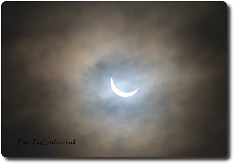 Partial eclipse Somerset 20 March 2015