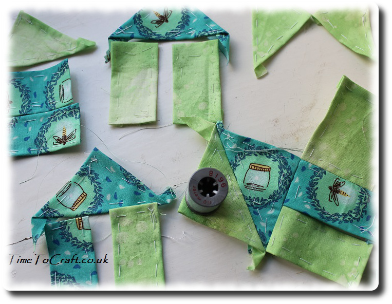 pieces of wrench quilt block