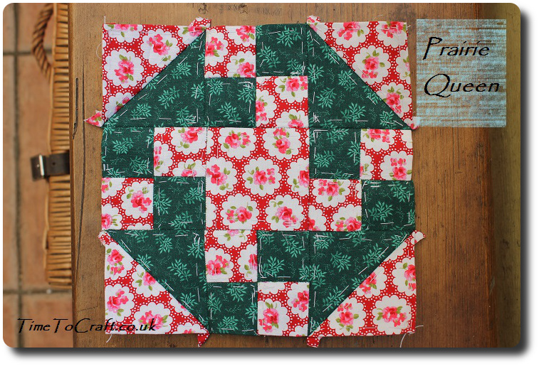 Prairie Queen quilt block