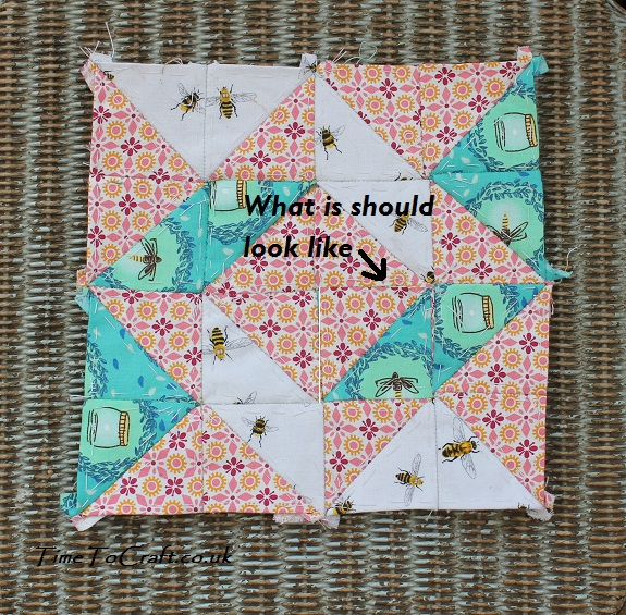tumbling leaves Dear Daughter quilt project corrected