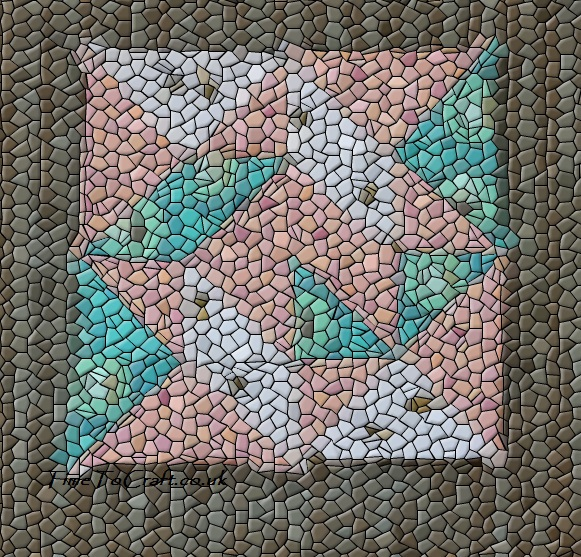 tumbling leaves Dear Daughter quilt project mosaic