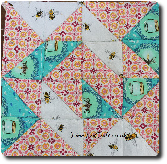 tumbling leaves Dear Daughter quilt project