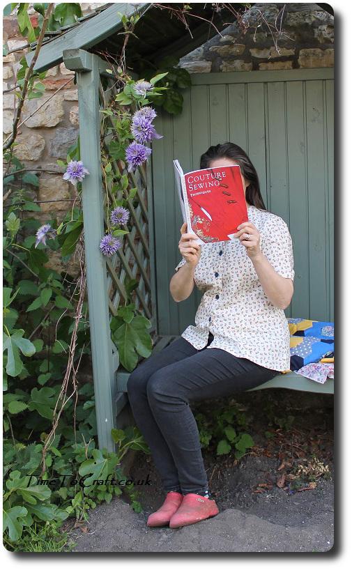 bobbin blouse reading handmade