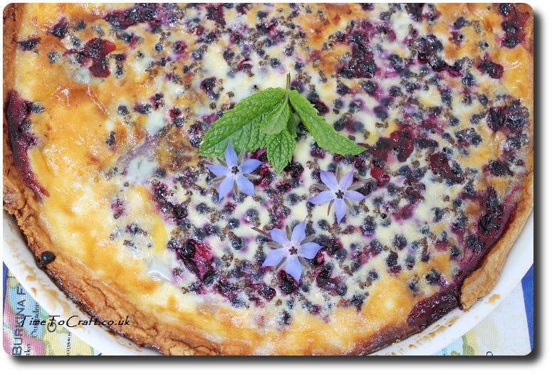 blackcurrant and custard tart2