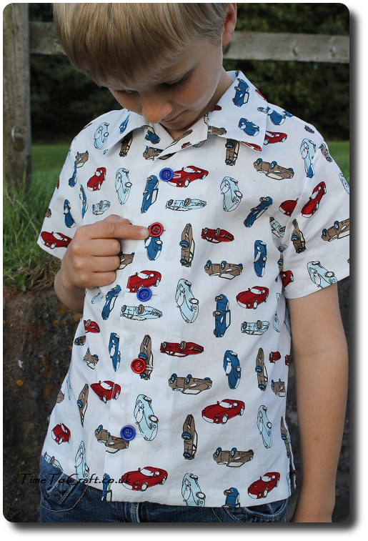 homemade boy shirt Simplicity 5581