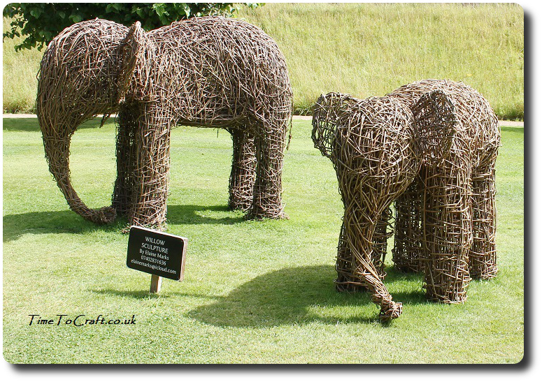 elephant willow weaving