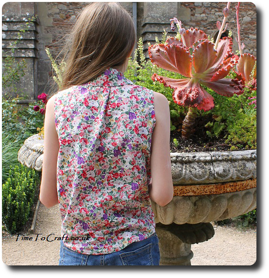 mccalls m6951 view A back floral