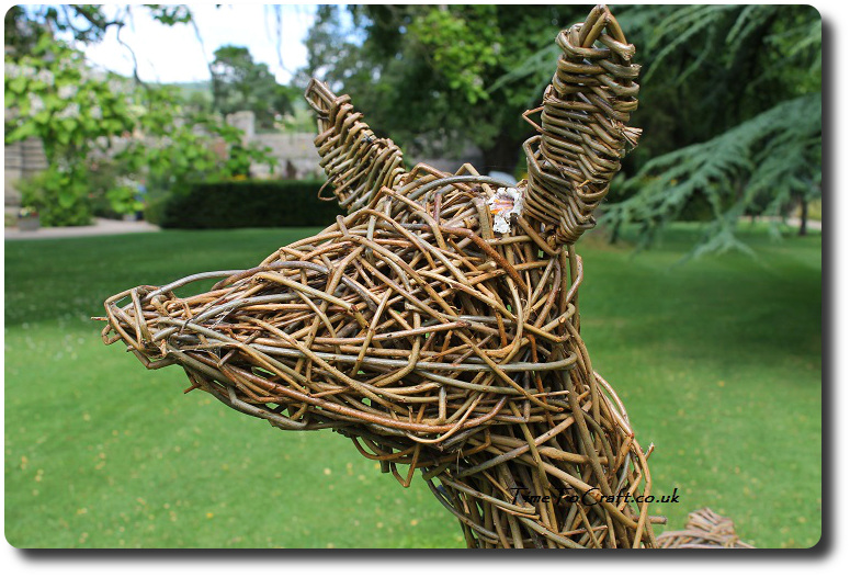 willow deer head Bishops Palace