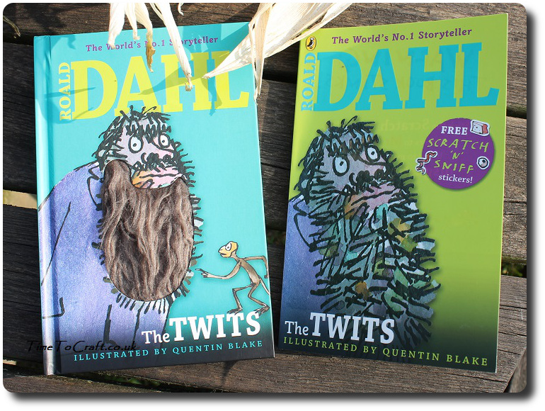 Roald Dahl The Twits hairy beard and stinky book