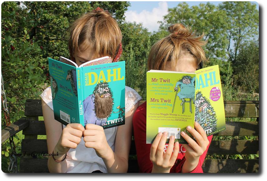 The Twits Roald Dahl beard book